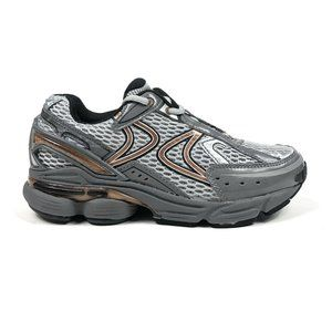 Aetrex RX Runner Gray Copper Low Shoes X-Wide